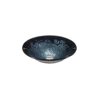 Legion Furniture Blue, Purple Velvet Vessel bowl