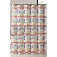 VCNY World Traveler Shower Curtain