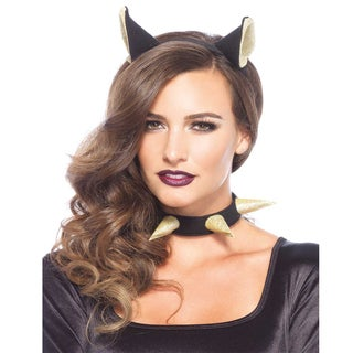 Leg Avenue Women's Bad Kitty Headband and Choker