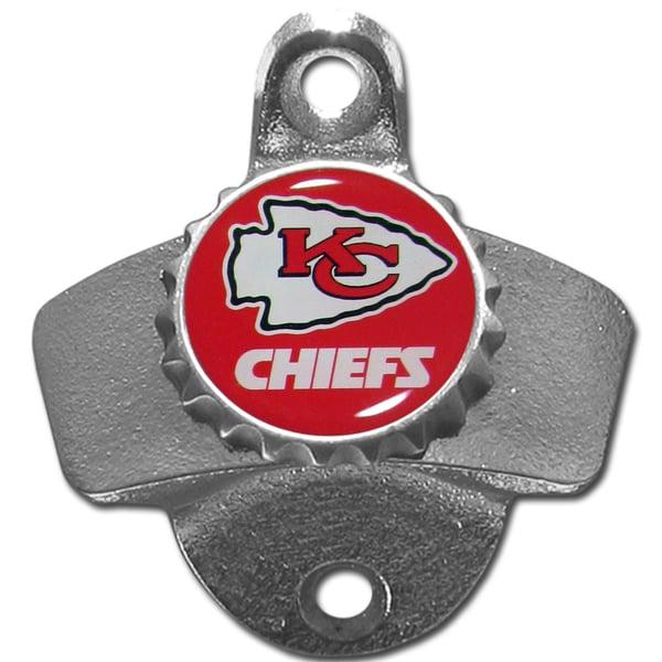NFL Kansas City Chiefs Wall-mounted Bottle Opener
