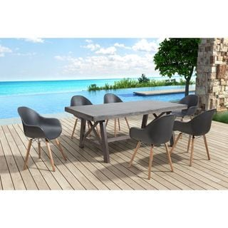 Tidal Dining Chair Black (Set of 4)