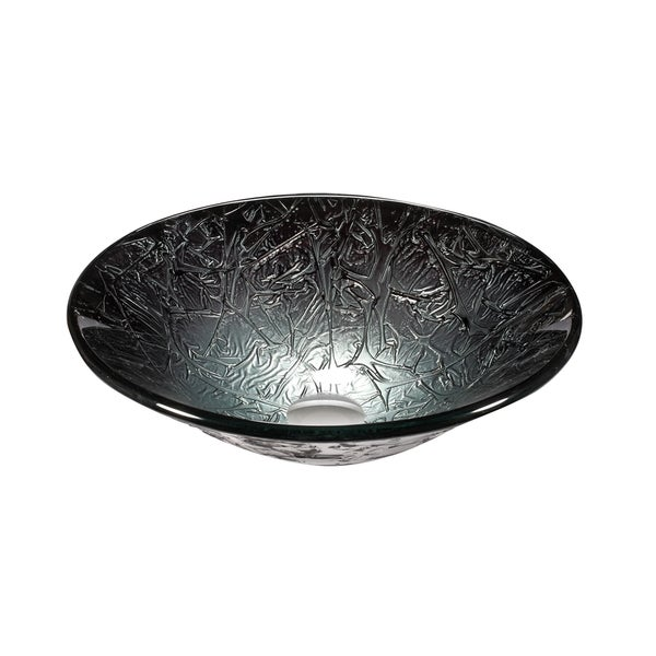 Legion Furniture Platinum and Silver Vessel Sink Bowl - Free Shipping ...