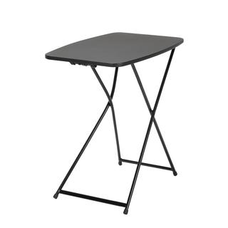 COSCO 18 x 26 Indoor/ Outdoor Adjustable Height Personal Folding Black Tailgate Table