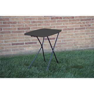 COSCO Indoor/ Outdoor Adjustable Height 18 x 26-inch Personal Folding Tailgate Table