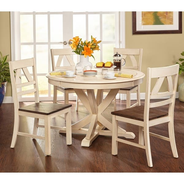 Shop Simple Living Vintner Country Style Dining Set - On ...