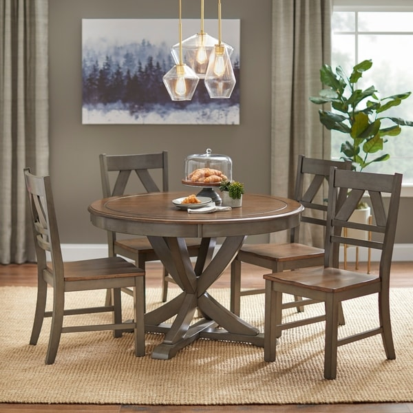 Country Style Dining Set: Shop Simple Living Vintner Country Style Dining Set
