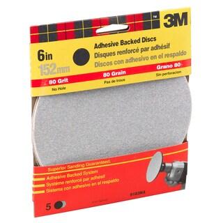 "3M 9183DC-NA 6"" Medium Adhesive Backed Discs"