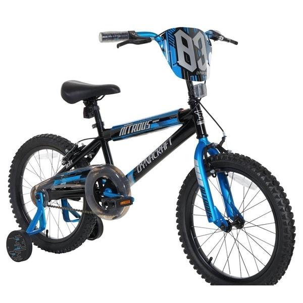 Dynacraft Nitrous Blue/Black Steel 18-inch Unisex Bicycle