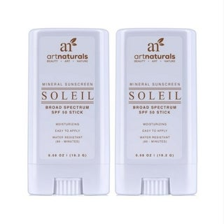 Art Naturals SPF 50 Water Resistant Sunscreen Stick (Set of 2)