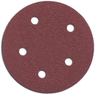 "Porter Cable 735500805 5"" Hook & Loop Abrasive Discs 5-count"