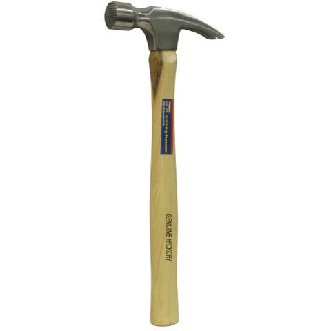 Allied International 31343 24 Oz Milled Face Framming Hammer