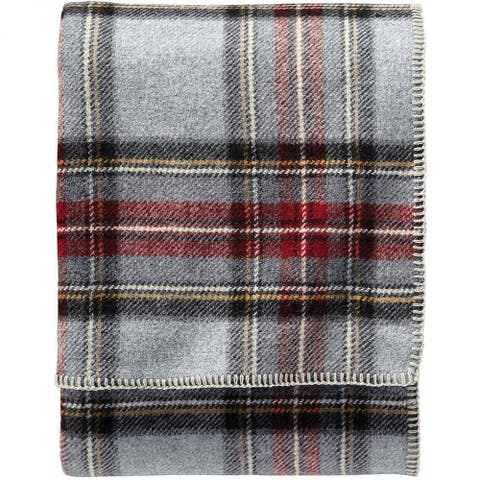 Pendleton Eco-wise Grey Stewart Wool Blanket
