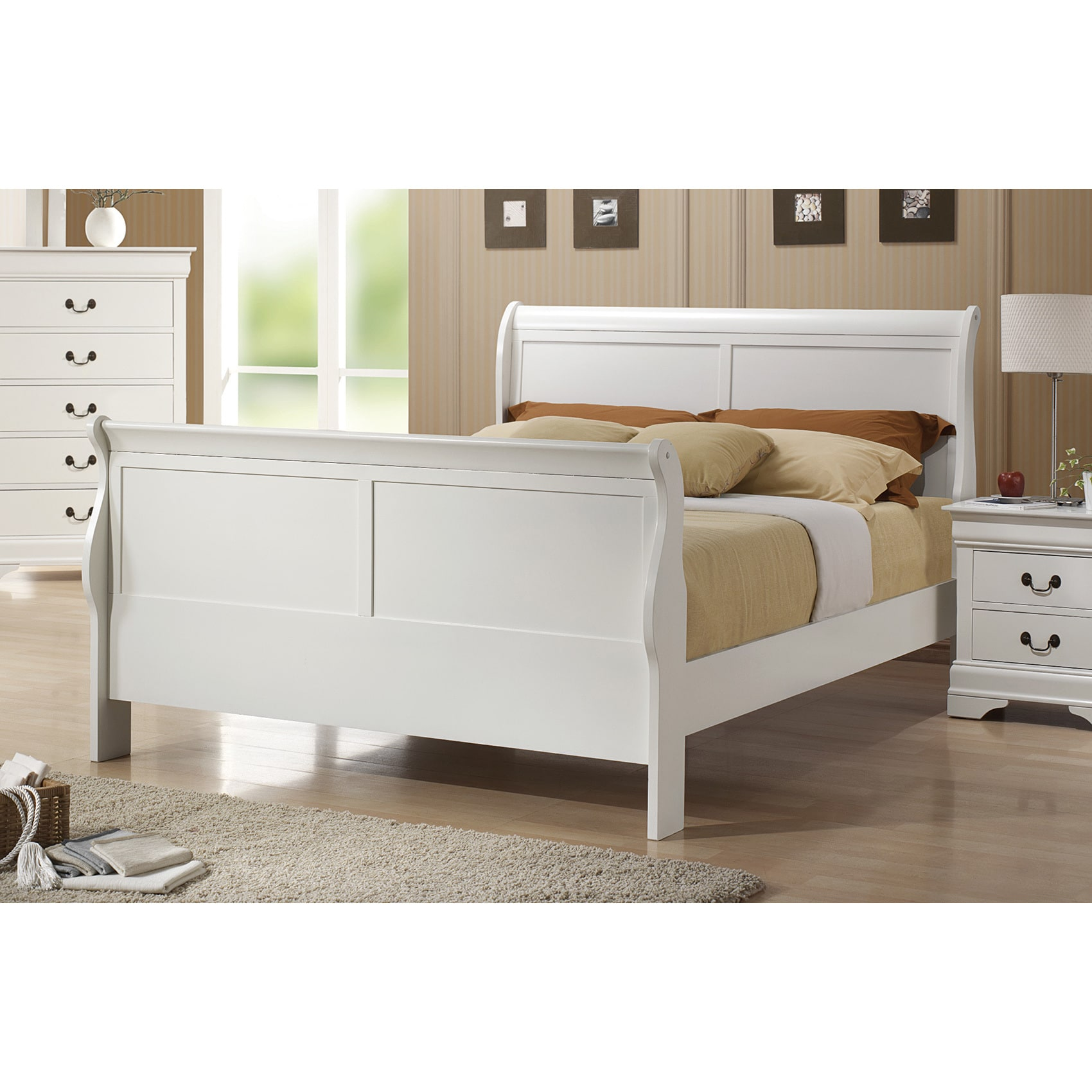 Coaster Furniture Louis Philippe White Bed (Full)