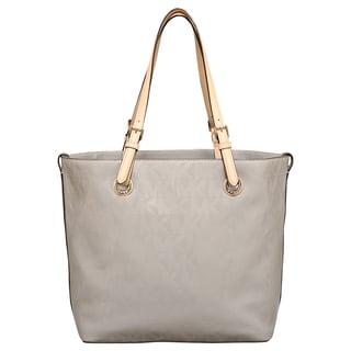 MICHAEL Michael Kors Signature Leather Grab Bag