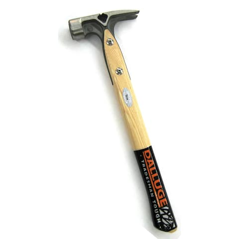 Vaughan 7180 16 Oz Dalluge Framing Hammer Wood Handle