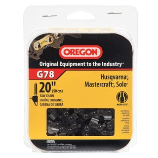"Oregon G78 20"" Micro-Lite Chain"