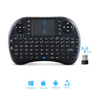Wireless Mini 2.4 GHz Keyboard With Touchpad Mouse|https://ak1.ostkcdn.com/images/products/12378815/P19202317.jpg?impolicy=medium