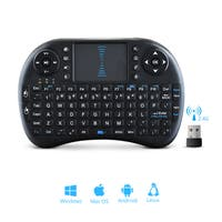 Wireless Mini 2.4 GHz Keyboard With Touchpad Mouse