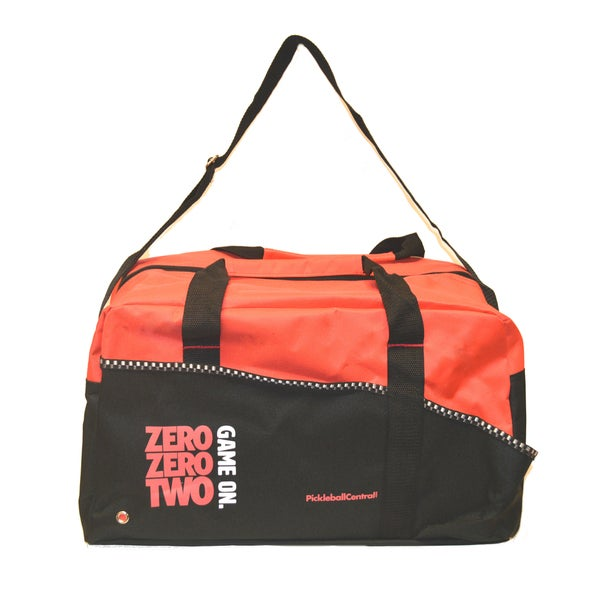 PickleballCentral Coral Red Game On Duffle Bag