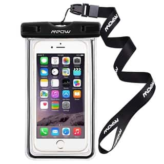 Universal Water-, Dust-, Dirt-, and Snow-proof Pouch/Case/Bag for Apple iPhone 6s and Samsung Cellphones|https://ak1.ostkcdn.com/images/products/12378957/P19202517.jpg?impolicy=medium