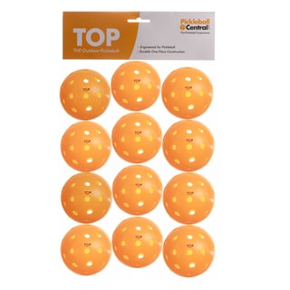 PickleballCentral 12 Pack Orange TOP Outdoor Pickleball