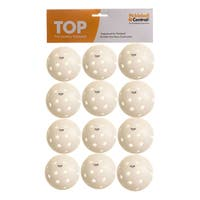 PickleballCentral 12 Pack White TOP Outdoor Pickleball