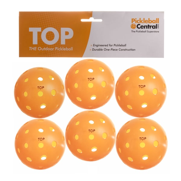 PickleballCentral 6 Pack Orange TOP Outdoor Pickleball