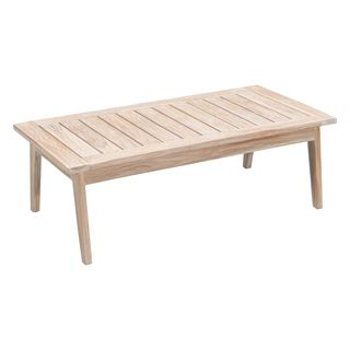 West Port White Wash Coffee Table