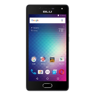 BLU Studio Touch S0210UU Unlocked GSM Dual-SIM 4G Quad-Core Android Phone w/ 8MP Camera