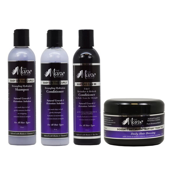 Shop The Mane Choice 4 Piece Hair Care Set Free Shipping