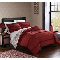 Chic Home Atticus Brick  Duvet Cover 4 Piece Set
