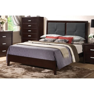 Cappuccino Wood Bed