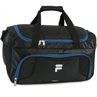 Fila Racer Nylon Small Travel Gym Sport Duffel Bag