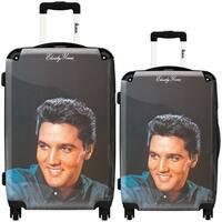 iKase 'Elvis Presley 19' 2-piece Fashion Harside Spinner Luggage Set