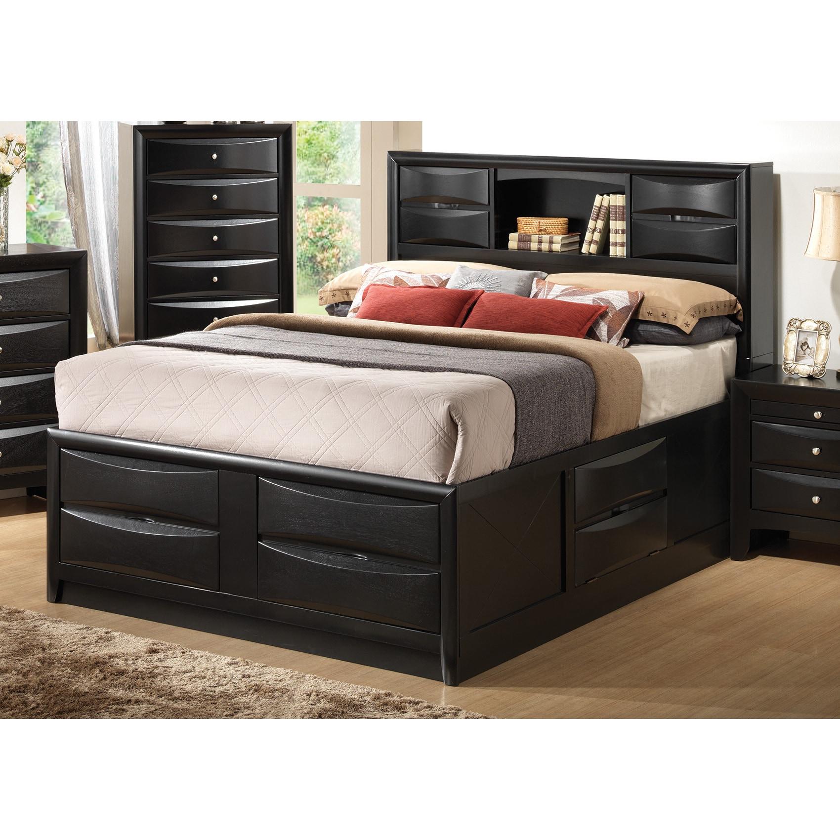 Coaster Furniture Briana Black Storage Bed (King)