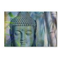 Cora Niele 'Buddha with Bamboo' Canvas Art