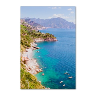 Ariane Moshayedi 'Amalfi Coast' Canvas Art