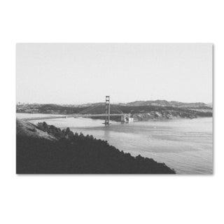 Ariane Moshayedi 'Golden Gate BW' Canvas Art