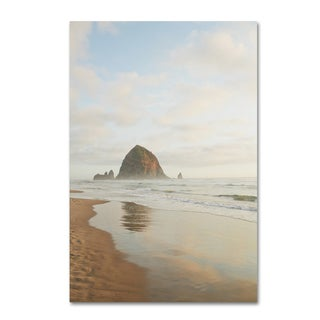 Ariane Moshayedi 'Haystack Rock Oregon' Canvas Art