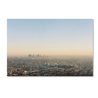 Ariane Moshayedi 'Downtown Los Angeles' Canvas Art