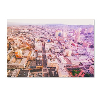 Ariane Moshayedi 'Downtown San Francisco' Canvas Art