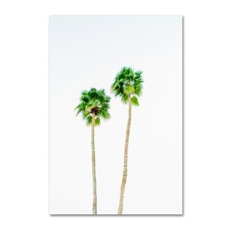 Ariane Moshayedi 'Palms 4' Canvas Art