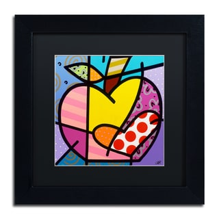 Roberto Rafael 'Big Apple IV' Matted Framed Art