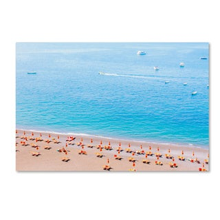 Ariane Moshayedi 'Positano Beach' Canvas Art