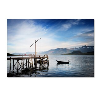 Philippe Sainte-Laudy 'Coming of the Light' Canvas Art