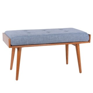 Porthos Home Robin Mid Century Accent Bench (3 options available)