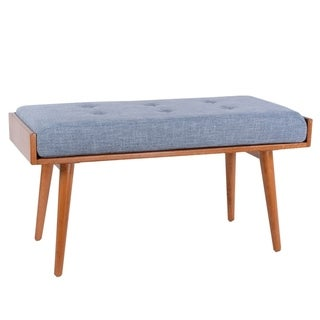 Link to Porthos Home Robin Mid Century Accent Bench Similar Items in Ottomans & Storage Ottomans