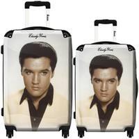 iKase 'Elvis Presley 17' 2-piece Fashion Hardside Spinner Luggage Set