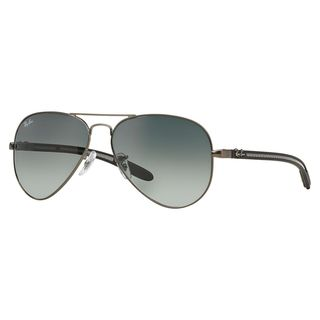 Ray-Ban Men's RB8307 029/71 Gunmetal Metal Pilot Sunglasses