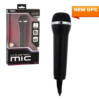 KMD Universal USB2.0 10-feet Cable Microphone For Guitar Hero/ Rock Band/ PS2/ PS3/ PC/ WII/ Xbox360/ Mac